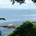 写真: 猿島の海@横須賀20150607