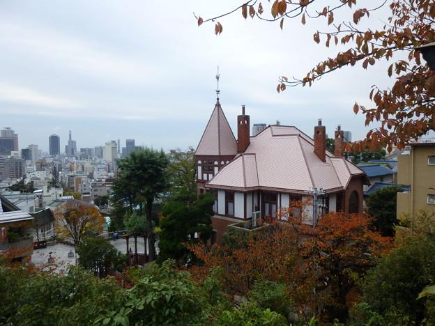 異人館と街の遠景@神戸20121123