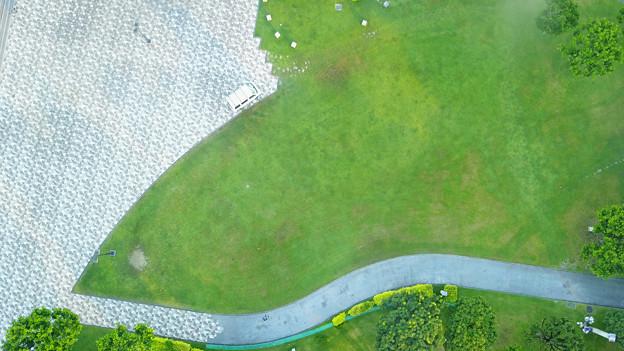 写真: ドローン空撮1