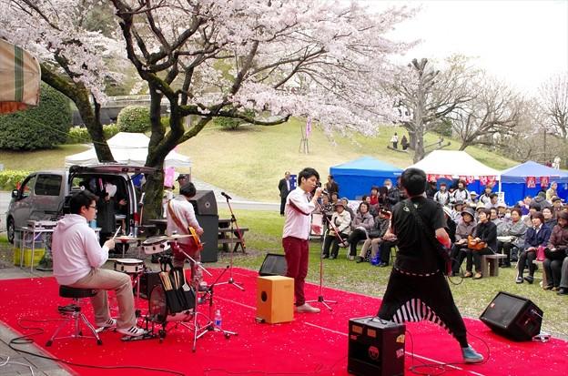 津久井湖さくら祭り05「イベント会場」