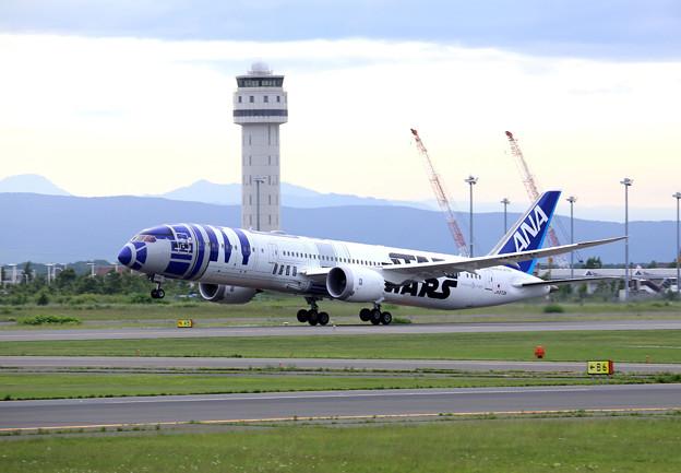 JA873A 離陸