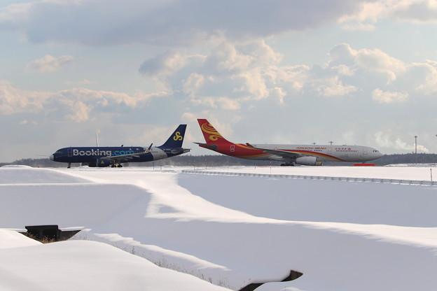 B-6920と香港AIR