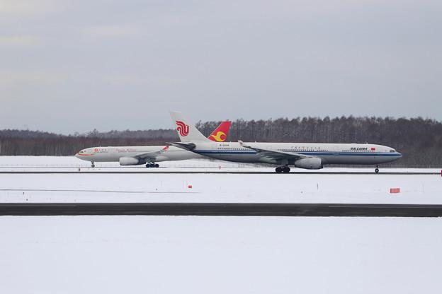B-5948 離陸