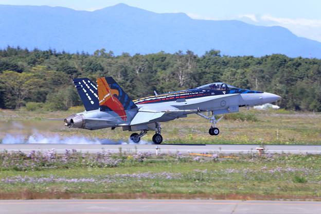 F18ホーネット 着地