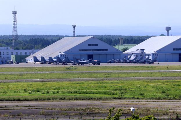 千歳基地  F15  F16  米軍
