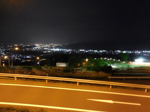 Photos: 姨捨SAにて(千曲川流域の夜景)