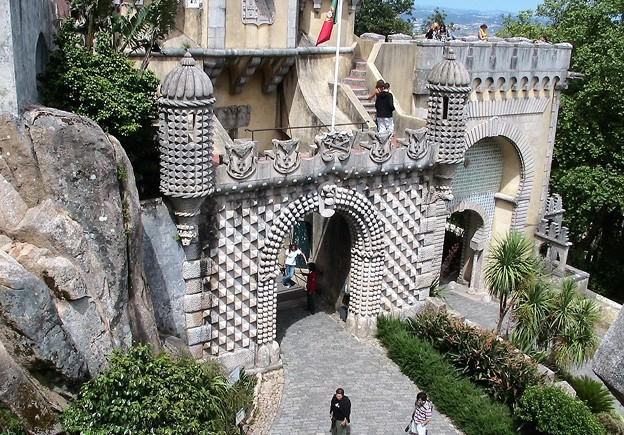 宮殿入り口ゲート