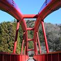 Photos: 山間の朱