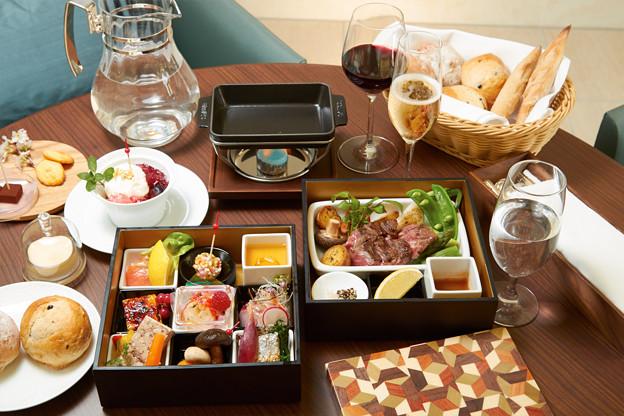 お部屋で食べる重箱スタイルのディナー(イメージ)