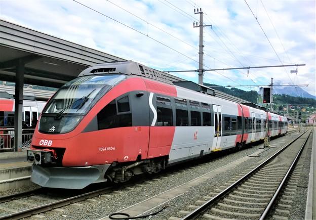 インスブルック中央駅