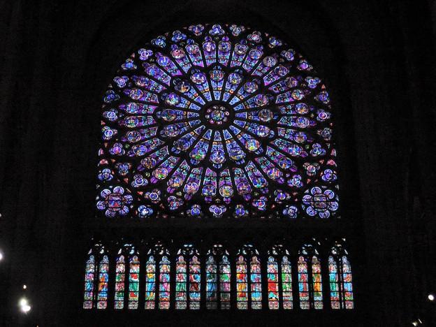 北のバラ窓