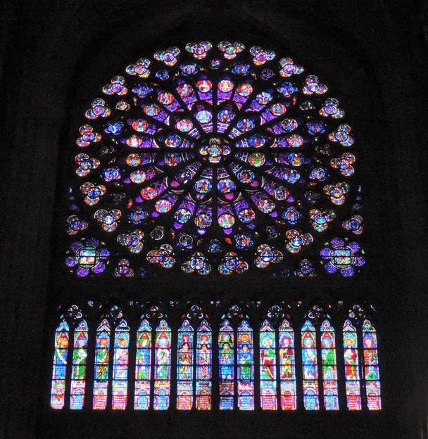 南のバラ窓