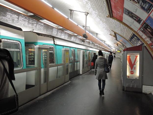 パリの地下鉄