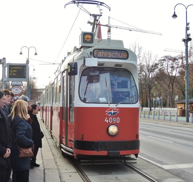 Photos: ウィーンのトラム