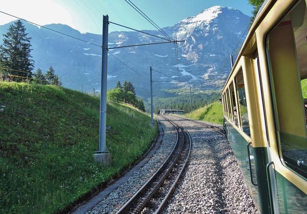 Photos: ヴェンゲルンアルプ鉄道