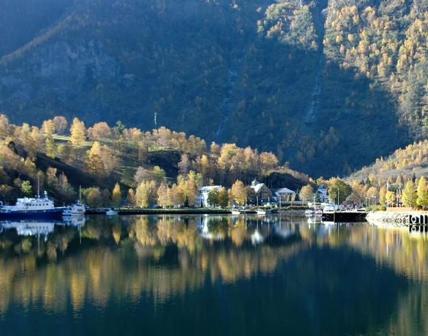 ノルウェーの秋