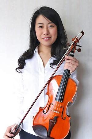 河村奈央子 かわむらなおこ ヴァイオリン奏者 ヴァイオリニスト