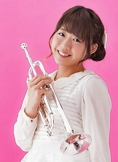 渡邉美優 わたなべみゆ トランペット奏者 トランぺッター   Miyu Watanabe