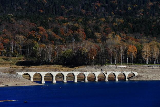 2020年10月18日 タウシュベツ川橋梁