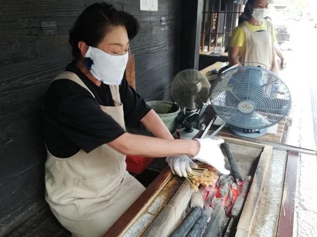 Photos: 一和の店先