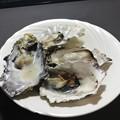 我が家では焼き牡蠣