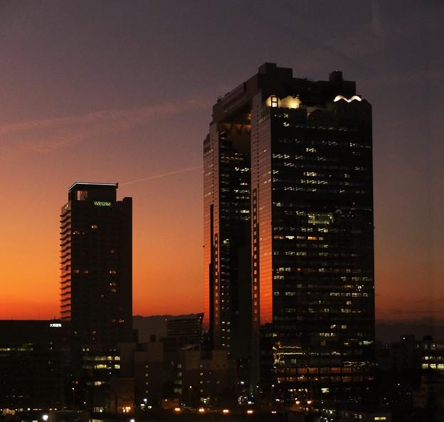 Twilight in Osaka