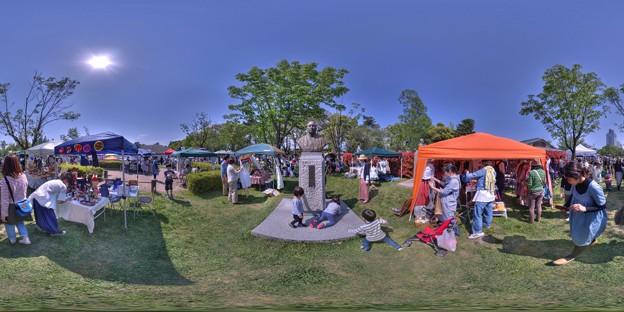 駿府城公園 「マロニエマルシェ」 360度パノラマ写真(3)