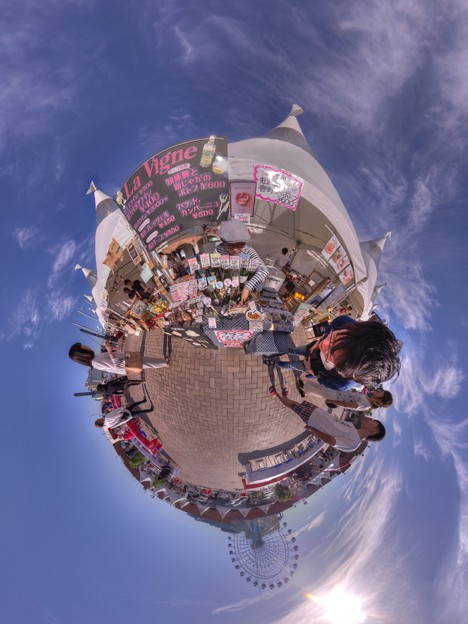 シズオカ×カンヌウイーク2017 「海辺のマルシェ」清水マリンパーク会場 Little Planet(2)
