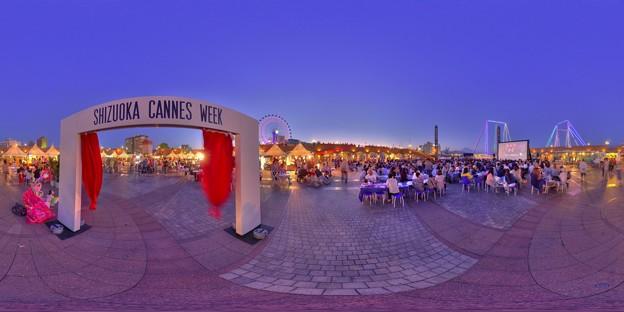 シズオカ×カンヌウイーク2017 「海辺のマルシェ」清水マリンパーク会場 360度パノラマ写真(6)