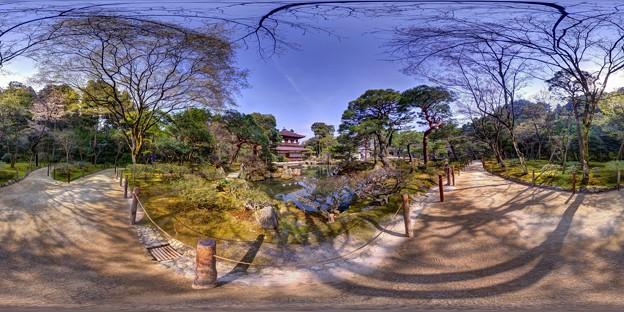 慈照寺銀閣 360度パノラマ写真〈3〉