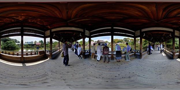 写真: 平安神宮 橋殿 360度パノラマ写真