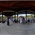 Photos: 平安神宮 橋殿 360度パノラマ写真