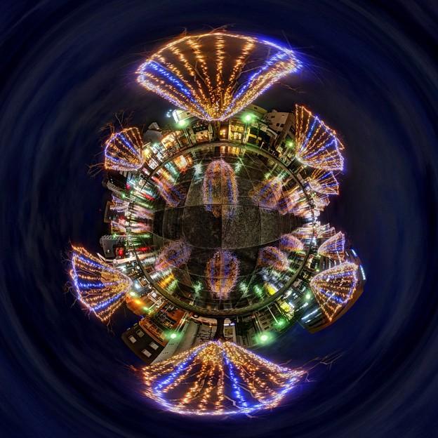青葉シンボルロード イルミネーション Little Planet