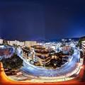 熱海の夜景 360度パノラマ写真