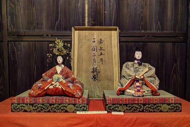 岡部町 大旅籠柏屋 江戸時代のひな人形(1)