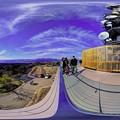 日本平 夢テラス 展望回廊 西面 360度パノラマ写真