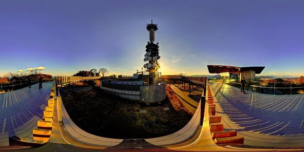Photos: 日本平 夢テラス 展望回廊 北面 360度パノラマ写真