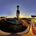 日本平 夢テラス 展望回廊 北面 360度パノラマ写真