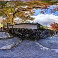 京都 大原 紅葉 360度パノラマ写真(3)