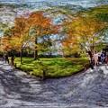 京都 大原 三千院 宸殿付近 360度パノラマ写真