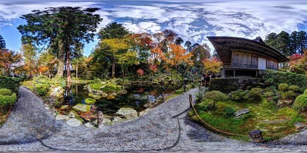 京都 大原 三千院 有清園 360度パノラマ写真