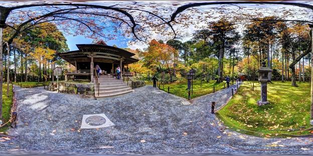 Photos: 京都 大原 三千院 往生極楽院付近 360度パノラマ写真