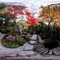 京都 大原 宝泉院 宝楽園庭園 360度パノラマ写真(2)