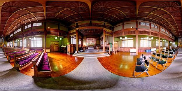 日本聖公会奈良基督教会 内部 360度パノラマ写真