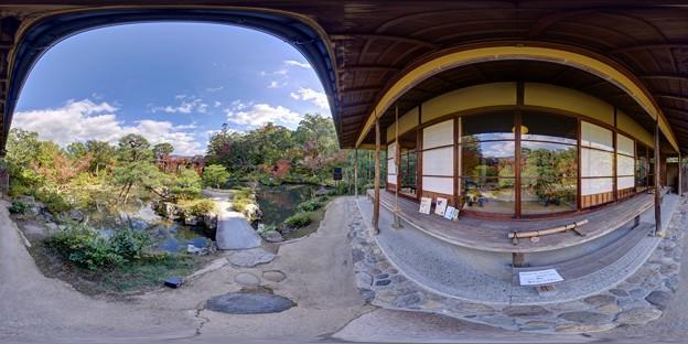 依水園庭園 360度パノラマ写真(2)