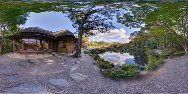 依水園庭園 360度パノラマ写真(3)