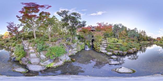 依水園庭園 360度パノラマ写真(4)