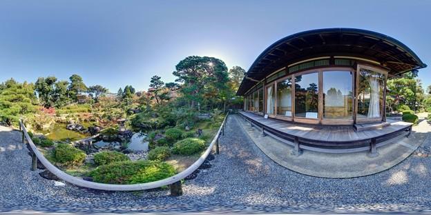 吉城園庭園 360度パノラマ写真(1)