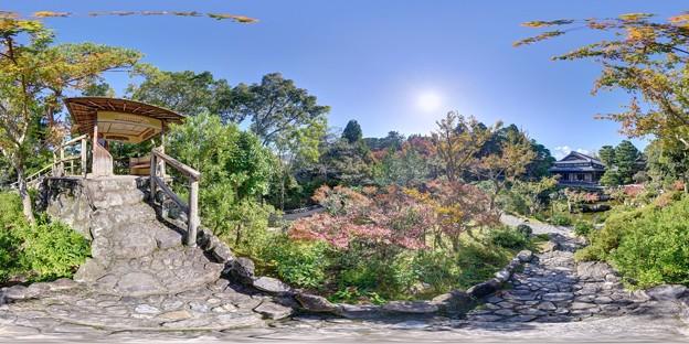 吉城園庭園 360度パノラマ写真(2)