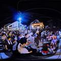 郡上八幡  郡上踊り 360度パノラマ写真(1)